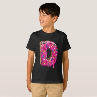 Camiseta D para a rosquinha
