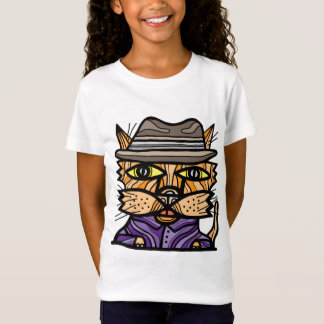 """Camiseta Da """"As meninas espertas rua"""" multam o t-shirt do"""