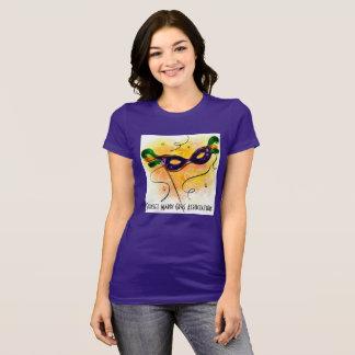 Camiseta da associação do carnaval do por do sol