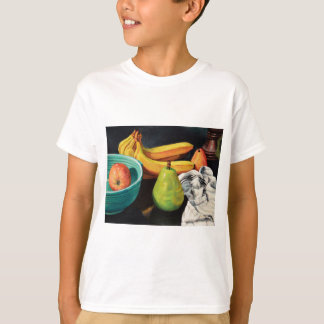 Camiseta Da banana de Apple da pera vida ainda