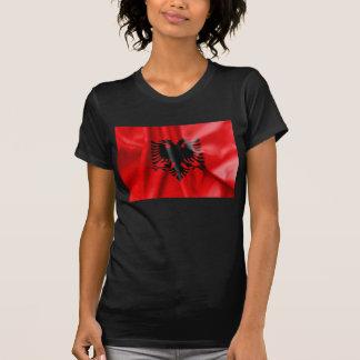 Camiseta da bandeira de Albânia