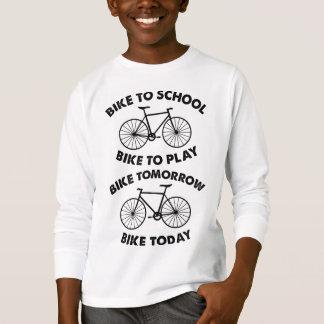 Camiseta Da bicicleta ciclismo legal para sempre -