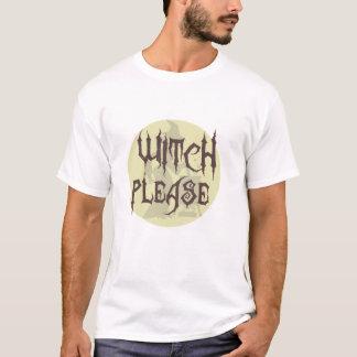 Camiseta Da bruxa t-shirt por favor