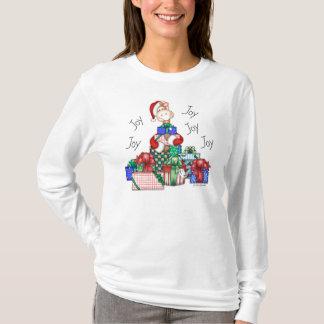 """Camiseta Da """"camisa do feriado da alegria da alegria"""