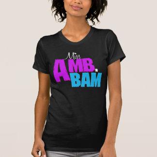 "Camiseta Da ""camisa senhorita Amb.Bam"""