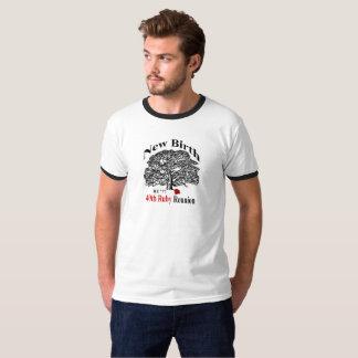 Camiseta da campainha dos homens