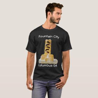 Camiseta da cidade da fonte