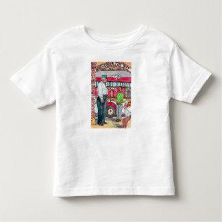 Camiseta da criança do gancho & do carro de
