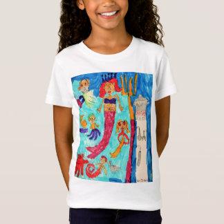 "Camiseta Da ""criaturas sereia """