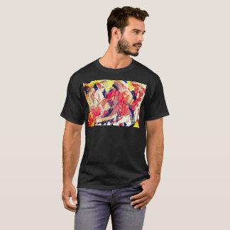 Camiseta Da escova poderosa da expressão do caos t-shirt