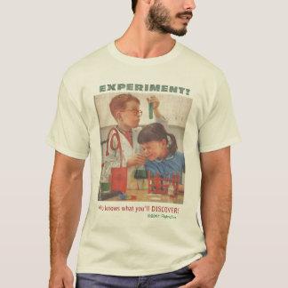 Camiseta da experiência