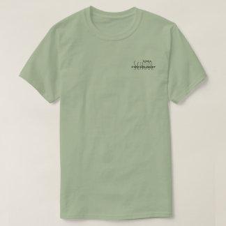 Camiseta da folha de prova dos psicólogos da