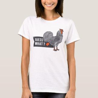 Camiseta da galinha: Suposição que bumbum da
