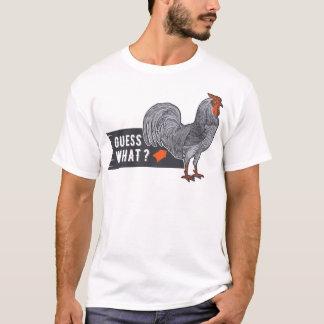 Camiseta da galinha: Suposição que homens do