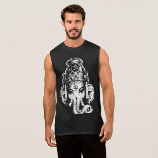 Camiseta da ioga do músculo dos homens de Ganesh