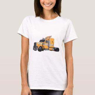 Camiseta Da laranja reboque de tractor semi