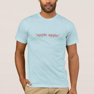 """Camiseta da """"maçã maçã """""""