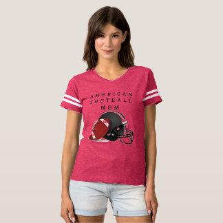 Camiseta da mamã do futebol americano