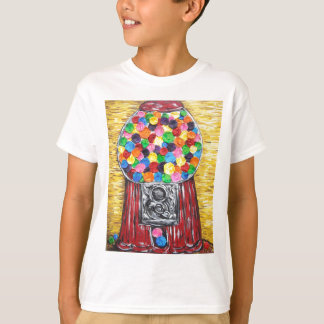 "Camiseta Da ""máquina pastilha elástica """