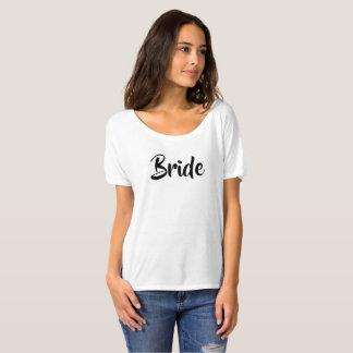 Camiseta da noiva para a festa de solteira