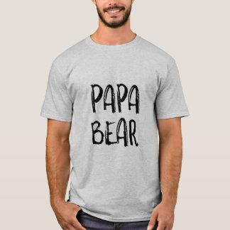 """Camiseta Da """"O t-shirt dos homens do urso papá"""""""