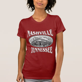 Camiseta da obscuridade de Nashville Tennessee Camiseta