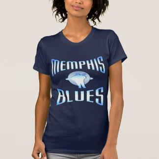 Camiseta da obscuridade dos azuis de Memphis
