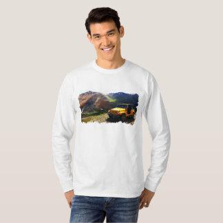 Camiseta Da parte superior da angra de Genebra