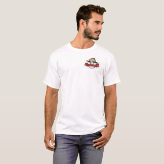 Camiseta da pizaria de Adam