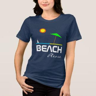 Camiseta Da praia customizável bonito um--um-amável por