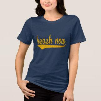 Camiseta da praia ideia do presente do partido do design da