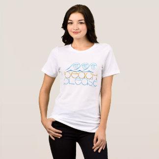 Camiseta Da praia ondas simples por favor
