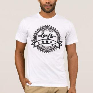 Camiseta da propaganda de Cory