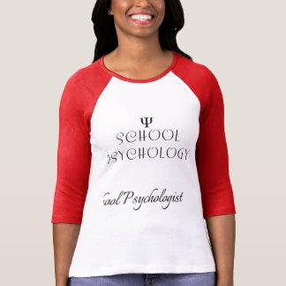 Camiseta da psicologia da escola