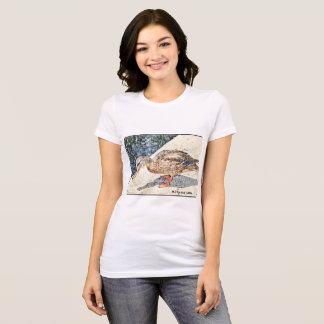 """Camiseta da """"rei Pato do jérsei do Bella das"""