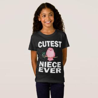 Camiseta Da sobrinha o t-shirt o mais bonito do pássaro do