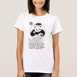 """Camiseta Da """"t-shirt da boneca das senhoras da raiva panda"""""""