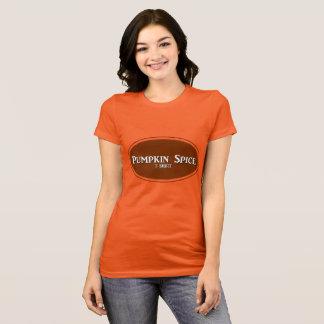 """Camiseta Da """"t-shirt da especiaria abóbora"""""""