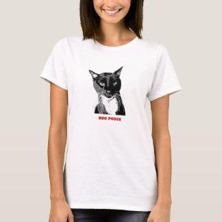 """Camiseta Da """"t-shirt do gato do smoking da legião vaia"""""""