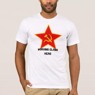 """Camiseta Da """"t-shirt vermelho do herói classe trabalhadora"""""""