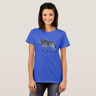 """Camiseta Da """"T zebra & do papagaio"""""""