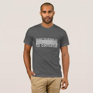"""Camiseta Da """"testa quebra """""""
