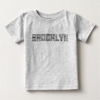 Camiseta da tipografia de Brooklyn NY, BK, New