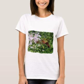 Camiseta Da traça clara da asa do colibri artigos de