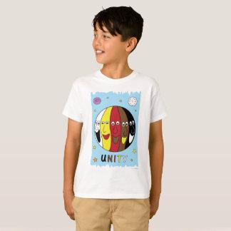 """Camiseta da """"UNIDADE"""" para miúdos"""