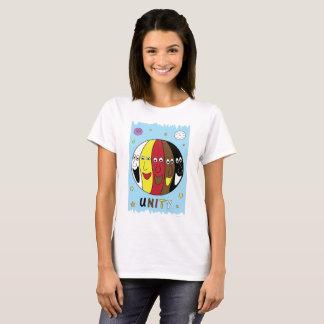 """Camiseta da """"UNIDADE"""" para mulheres"""