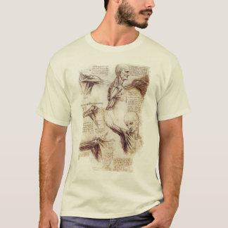 Camiseta da Vinci -- Esboço do ombro