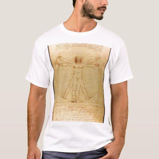 Camiseta Da Vinci - Vitruvian Man