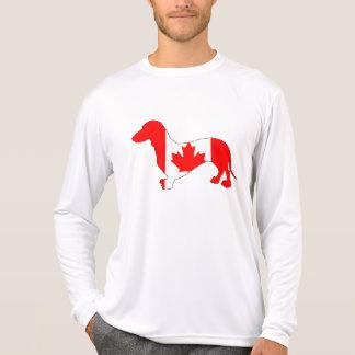 Camiseta Dachshund Canadá