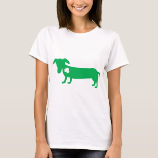 Camiseta Dachshund do dia de St Patrick